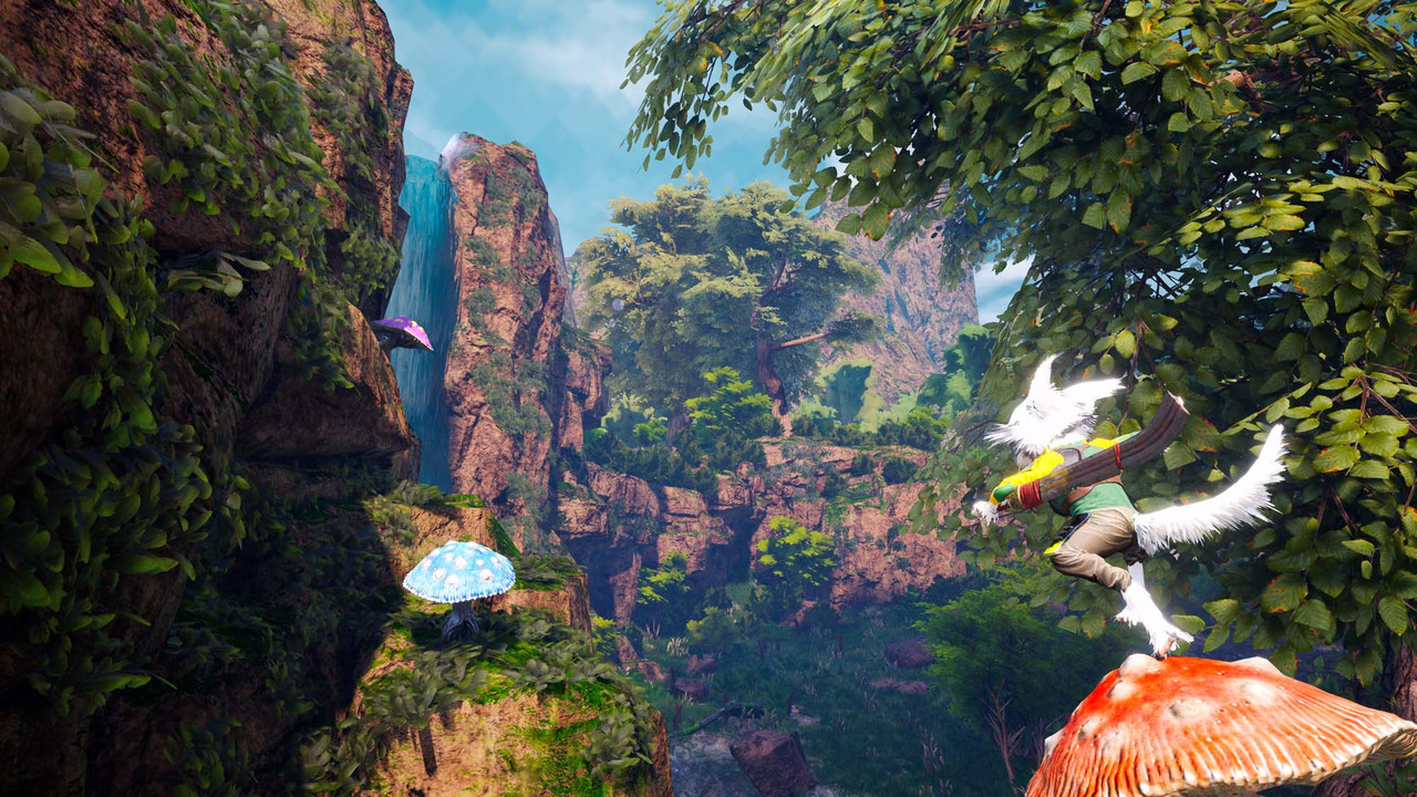 Biomutant's kung fu, mutants, and bionics have our attention