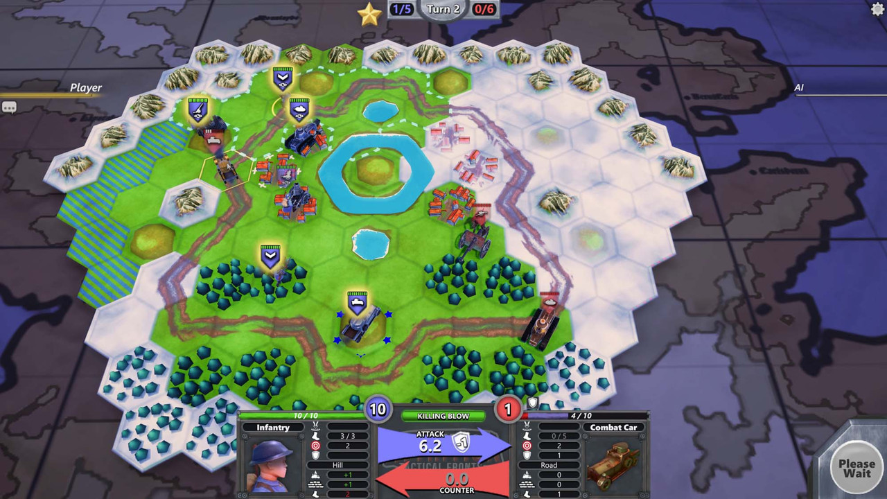 Aussie quick play strategy title Attrition: Tactical Fronts zips onto Steam