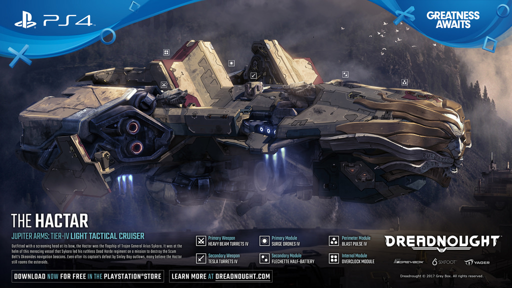 Dreadnought open beta launches on PS4 today