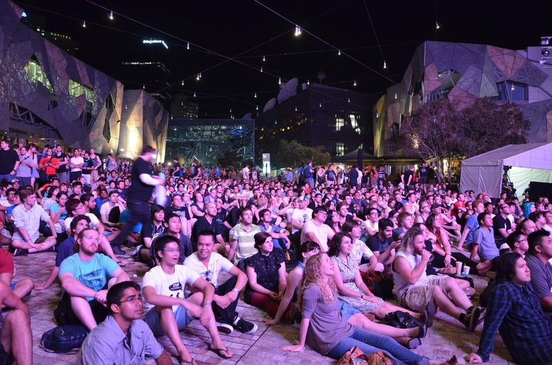 StarCraft II: Heart of the Swarm launch in Melbourne