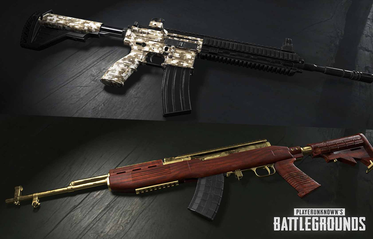 PUBG gets weapon skins, region locked servers under consideration
