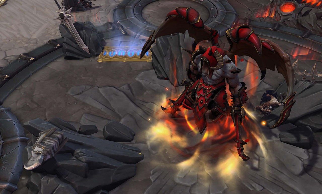 A unique Diablo-themed map is coming to Heroes of the Storm
