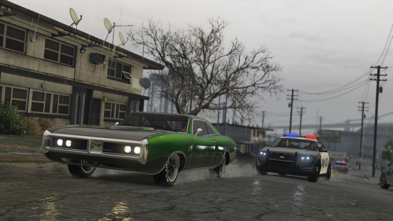 Grand Theft Auto V new-gen review