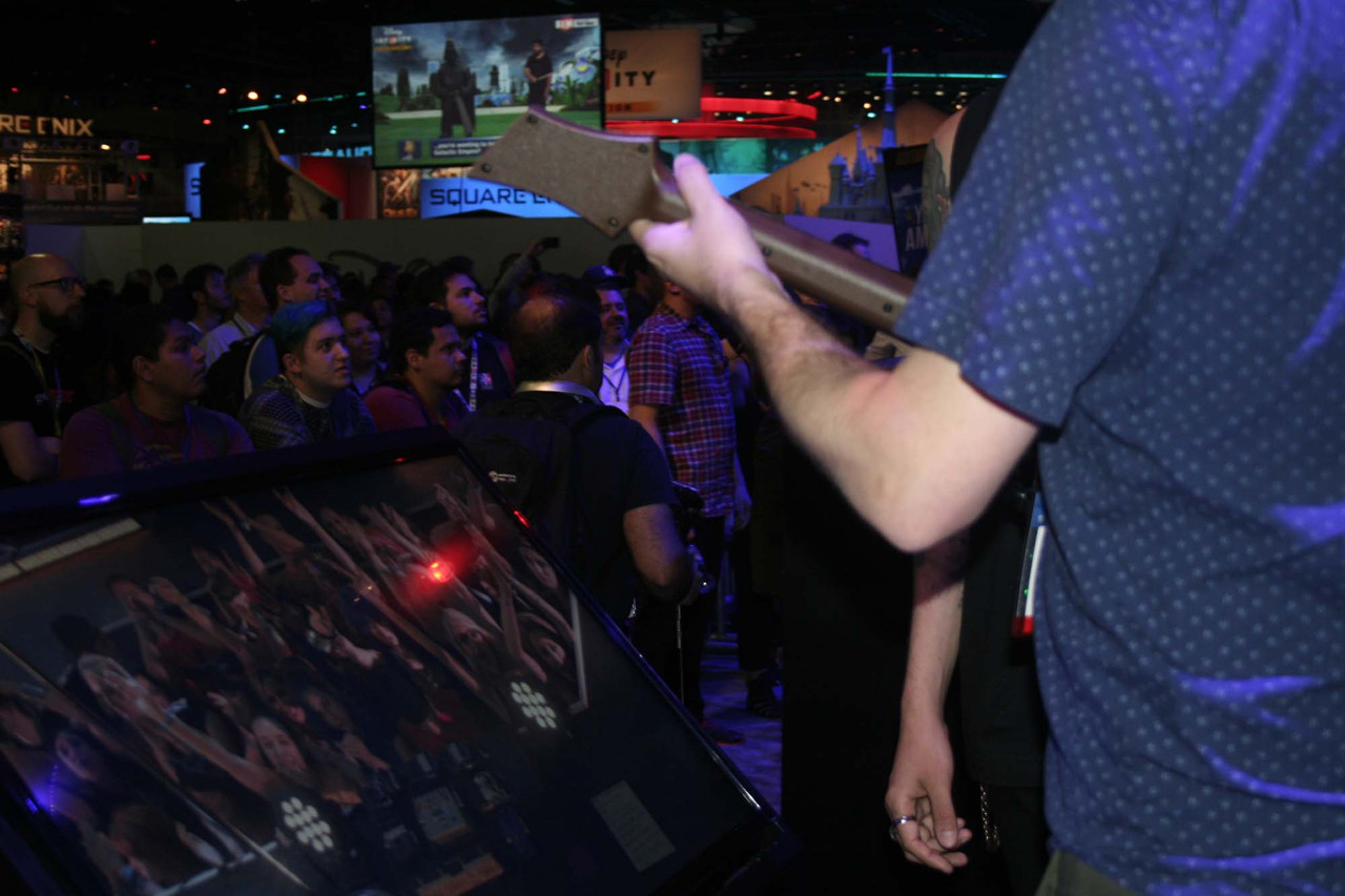 Here's our E3 in photo form