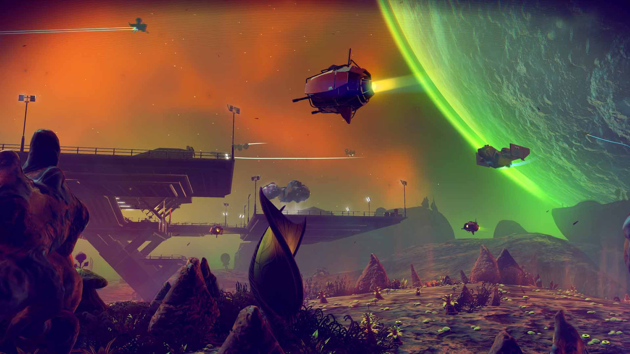 No Man's Sky is coming to Xbox One, VR support is looking likely