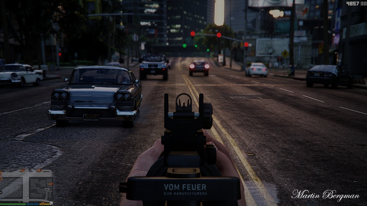 GTA V graphical mod makes a pretty game prettier
