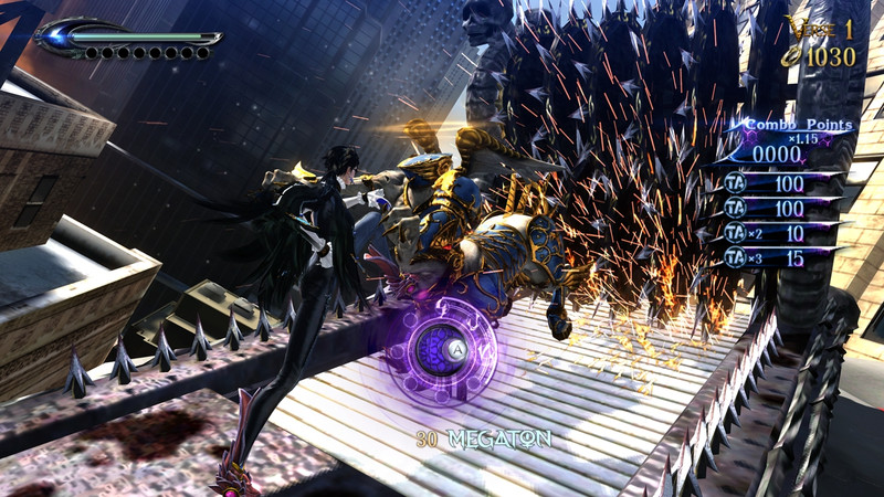 E3: Bayonetta 2 screenshots