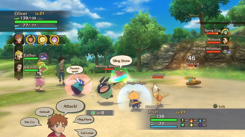 Ni No Kuni: Wrath of the White Witch review