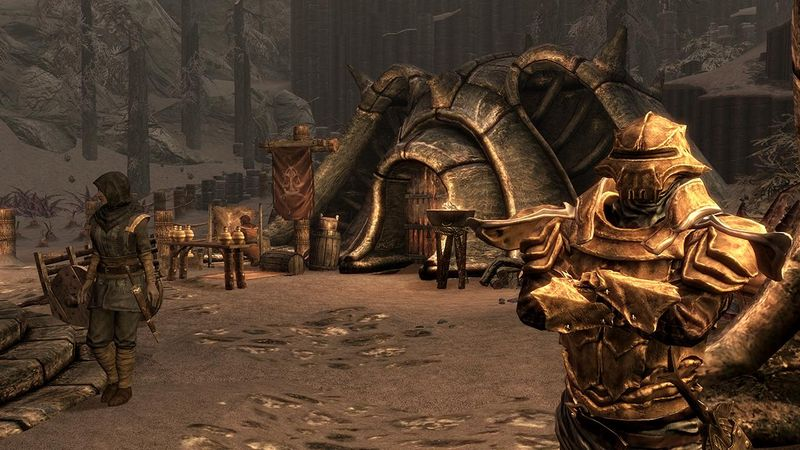 The Elder Scrolls V: Skyrim Dragonborn DLC screenshots