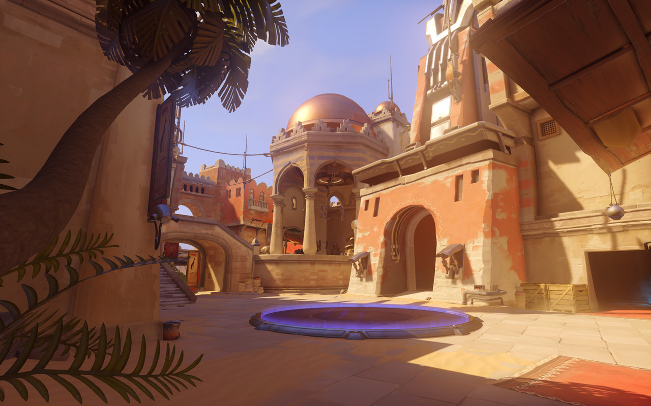 Overwatch environments screenshots