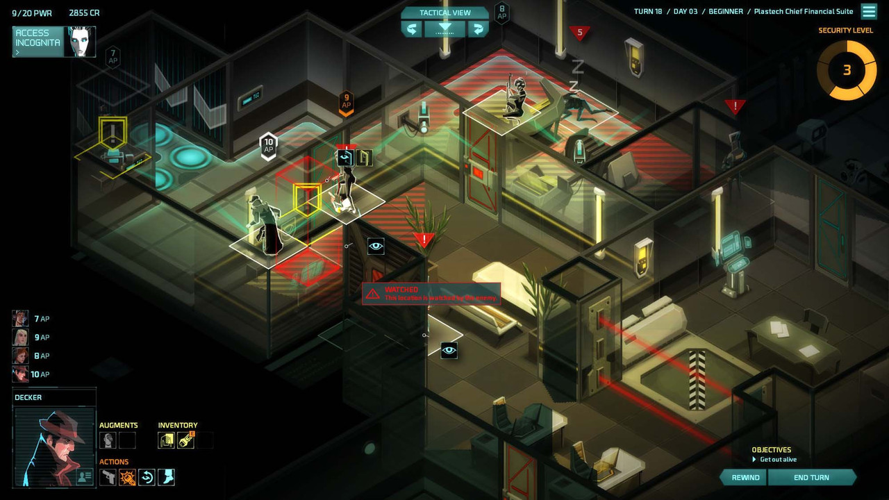 Invisible Inc. is turn-based nirvana