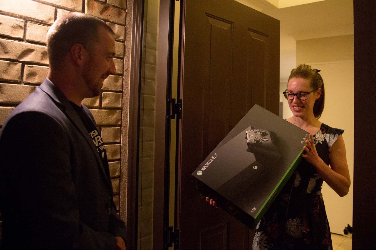 Here are the Kiwis who were first in the world to get an Xbox One X
