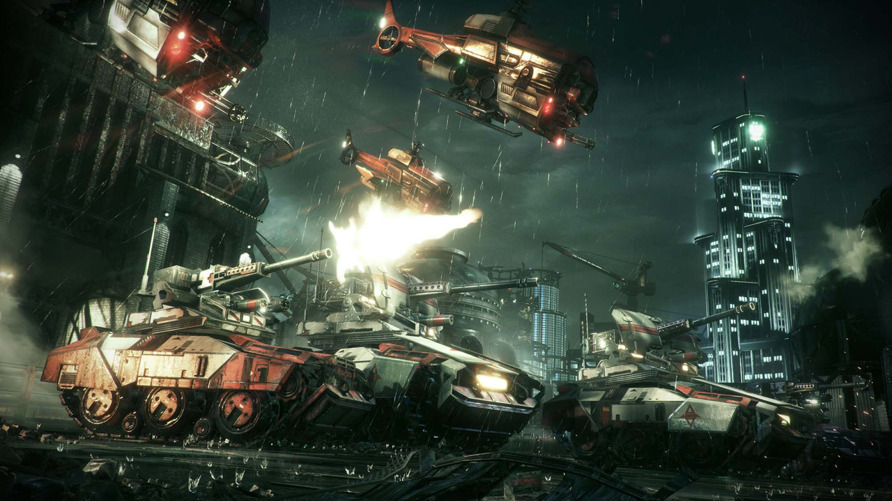 Hands-on with Rocksteady's Batman swansong Arkham Knight