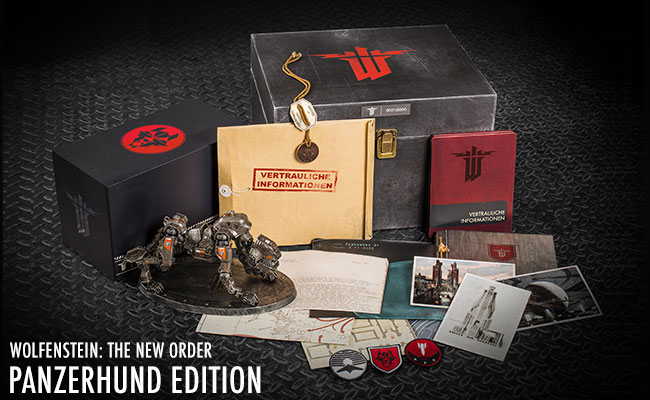 Win a Panzerhund Edition of Wolfenstein: The New Order