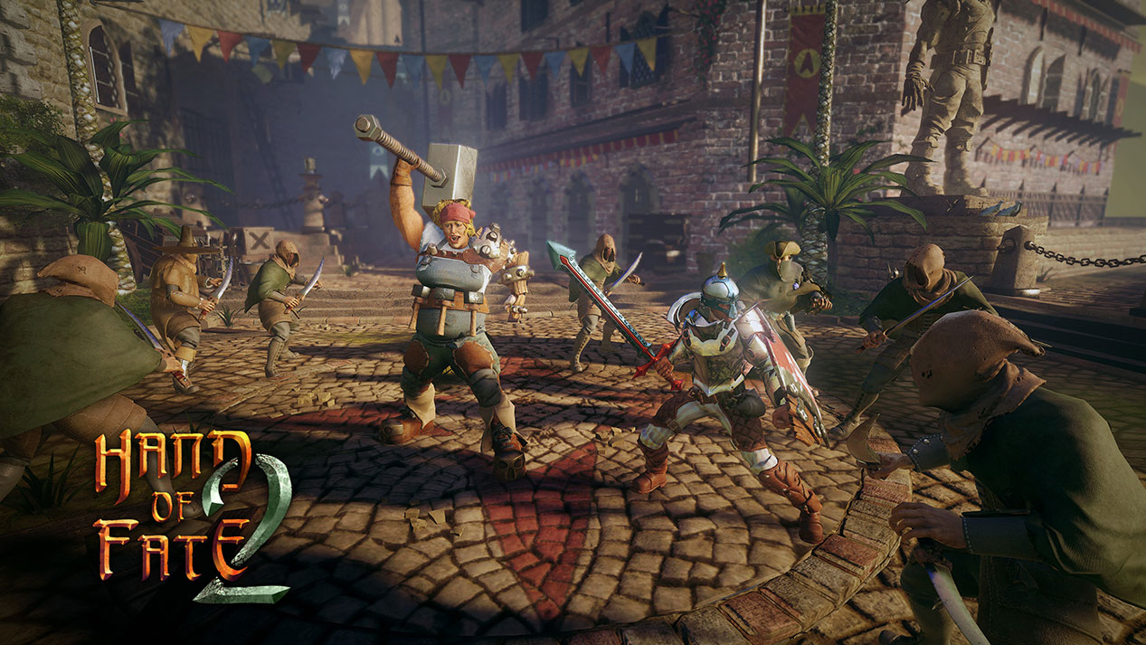 "Hand of Fate 2 is ""massive"", arrives November 7"