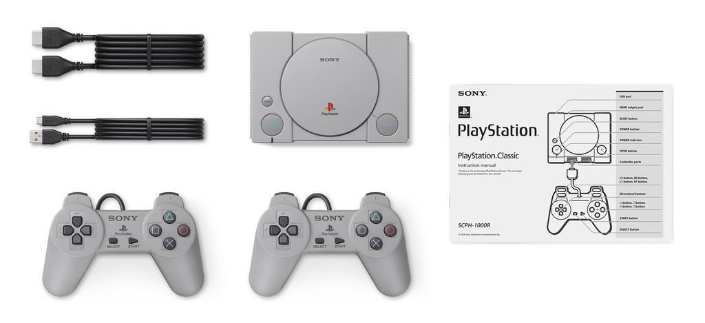 Sony plays the nostalgia card with the PlayStation Classic