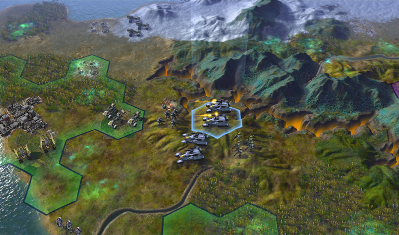 E3: Sid Meier's Civilization: Beyond Earth - Terran screenshots