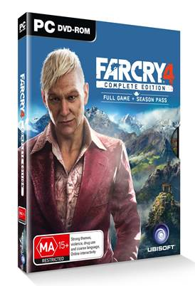 Far Cry 4 Complete Edition is coming to PC and PS4 next month