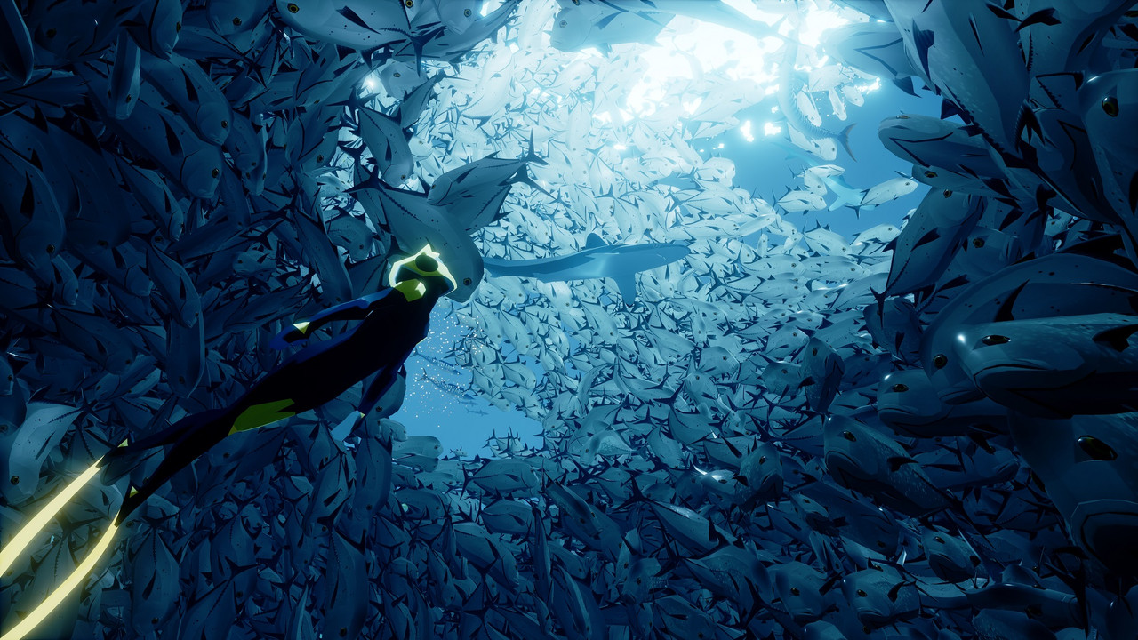 Exploration title Abzu is an astonishing journey into the deep