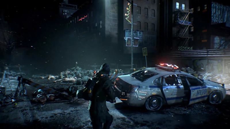 New The Division screens show nightscapes