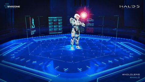 HoloLens amazes, while Halo 5's Warzone is merely great fun