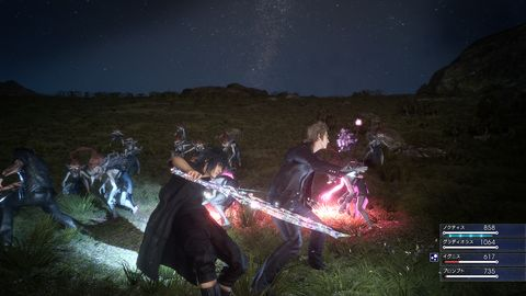 Final Fantasy XV hands-on