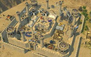 Our house, our castle: Firefly on Stronghold Crusader II