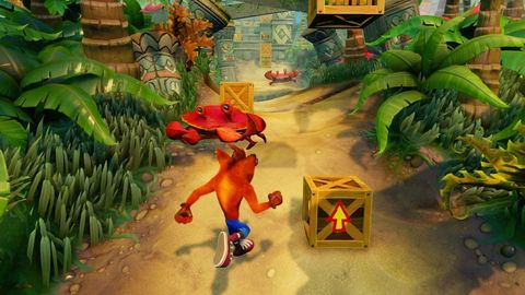 Crash Bandicoot N.Sane Trilogy Switch Review