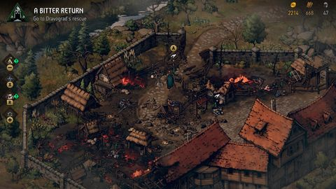 Thronebreaker: The Witcher Tales Nintendo Switch Review