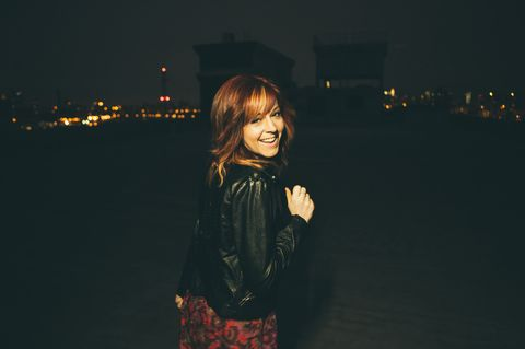 Meet Lindsey Stirling backstage in Auckland