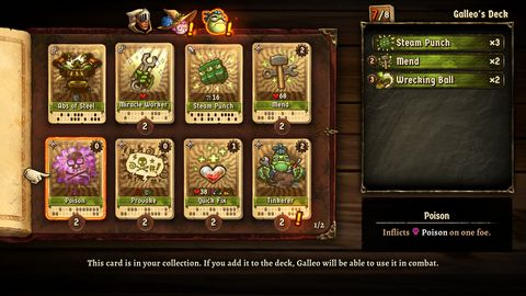 Steamworld Quest: Hand of Gilgamech Switch Review