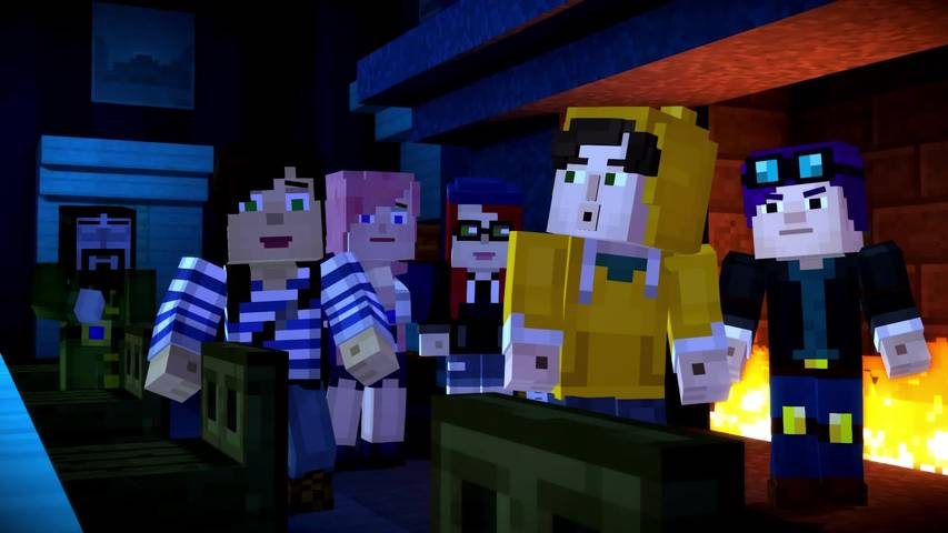 Minecraft Story Mode Episode 6 A Portal To Mystery Launch